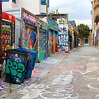 Clarion Alley by Fern Blacker