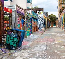 Clarion Alley by fernblacker