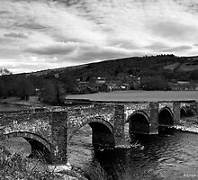 Carrog Bridge by David J Knight