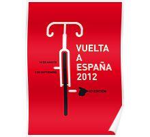 MY VUELTA A ESPANA 2012 MINIMAL POSTER Poster