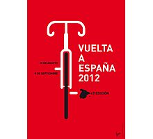 MY VUELTA A ESPANA 2012 MINIMAL POSTER Photographic Print