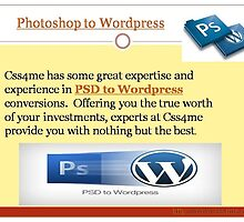 A leader in Photoshop conversions by css4me123