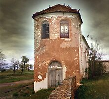 that haunted house beside the graveyard.... by AtmanVictor