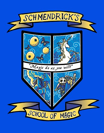 Schmendrick's School of Magic by AriesNamarie
