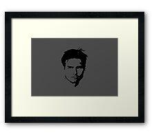 Tom Cruise Stare Framed Print