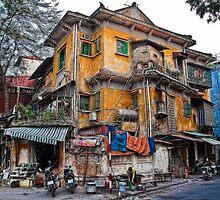 Vietnam. Hanoi. Old House. by vadim19
