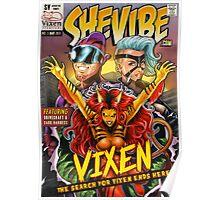 SheVibe Vixen Cover Art Poster