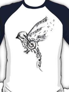 Musical bird  T-Shirt