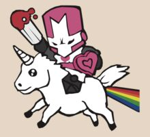 Pink knight unicorn by MattTuxford
