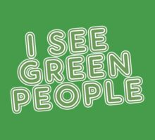 I See Green People St Patricks Day Kids Clothes