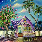 Purple Twilight Conch House by ColorsofWhite