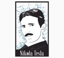 Nikola Tesla by Charles Flanagan