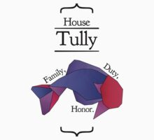 House Tully - Stained Glass by Jack Howse
