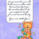 Cancer Patient Encouragement Card by Moonlake