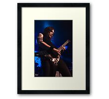 Michael Padget of Bullet for My Valentine Framed Print