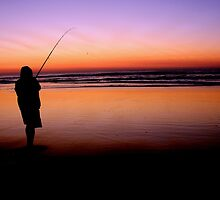 Fishing on Fraser Island by AlysonO