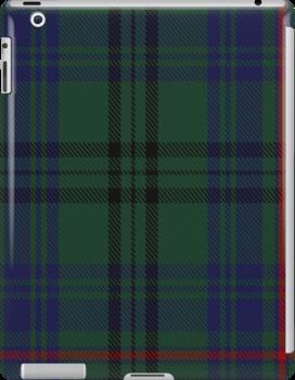 10010 Walker Hunting Clan/Family Tartan Fabric Print Ipad Case by Detnecs2013