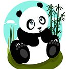 Baby Panda by Adamzworld
