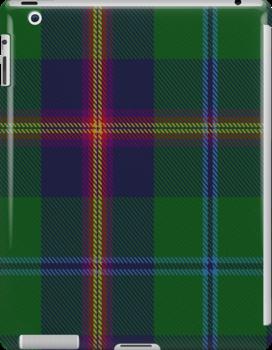 10011 Young Clan Tartan Fabric Print Ipad Case by Detnecs2013