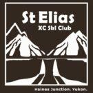 St Elias Ski Club T-shirt. Logo in White. by DENofTEES .