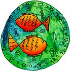 Two Fish Circular by Julie Nicholls