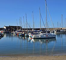Peaceful Lyme Harbour , Dorset UK by lynn carter