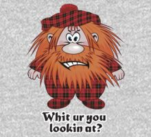 Jock MacNutter - Whit ur you lookin at? Kids Clothes