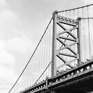 Benjamin Franklin Bridge, Philadelphia by Jip v K