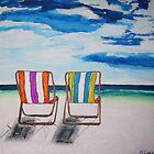 Beach Chair Delight by gillsart
