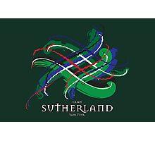 Sutherland Tartan Twist Photographic Print