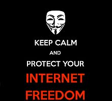 Keep Calm and Protect Your Internet Freedom by ProNinja16