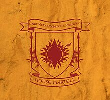 House Martell by isabelgomez