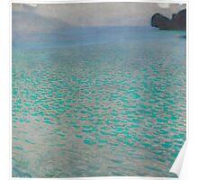 Gustav Klimt - Attersee Poster