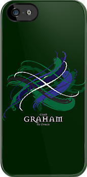 Clan Graham Tartan Twist by eyemac24