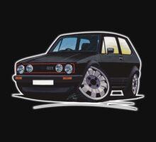 VW Golf GTi (Mk1) Black Kids Clothes