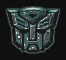 TRANSFORMERS: Motherboard Autobot by KERZILLA
