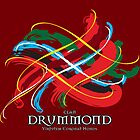 Clan Drummond Tartan Twist by eyemac24