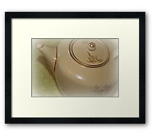 Tea Time I Framed Print