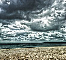 Gyllyngvase beach by Roxy J