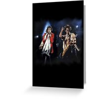 Keith and Mick Greeting Card