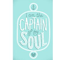 Captain Photographic Print