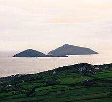 Dusk light over the Kerry Coast by Pauline Mason