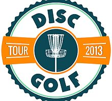 Disc Golf Tour 2013 by perkinsdesigns
