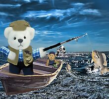 <º))))>< GOOD THINGS COME TO THOSE WHO BAIT-BEARS FISHING VACATION <º))))><  by ╰⊰✿ℒᵒᶹᵉ Bonita✿⊱╮ Lalonde✿⊱╮