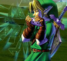 Ocarina of Time - Link iPhone Case by squidkid