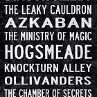 Harry Potter Tram Scroll by rafstardesigns