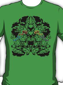 Teenage Mutant Ninja Rorschach T-Shirt