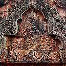 Carvings of Banteay Srei, V by Vladimir Rudyak