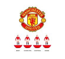 Manchester United Legends (Subbuteo) by Stephen Knowles