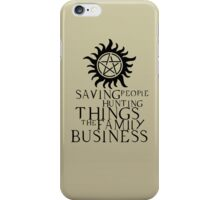 Family business iPhone Case/Skin
